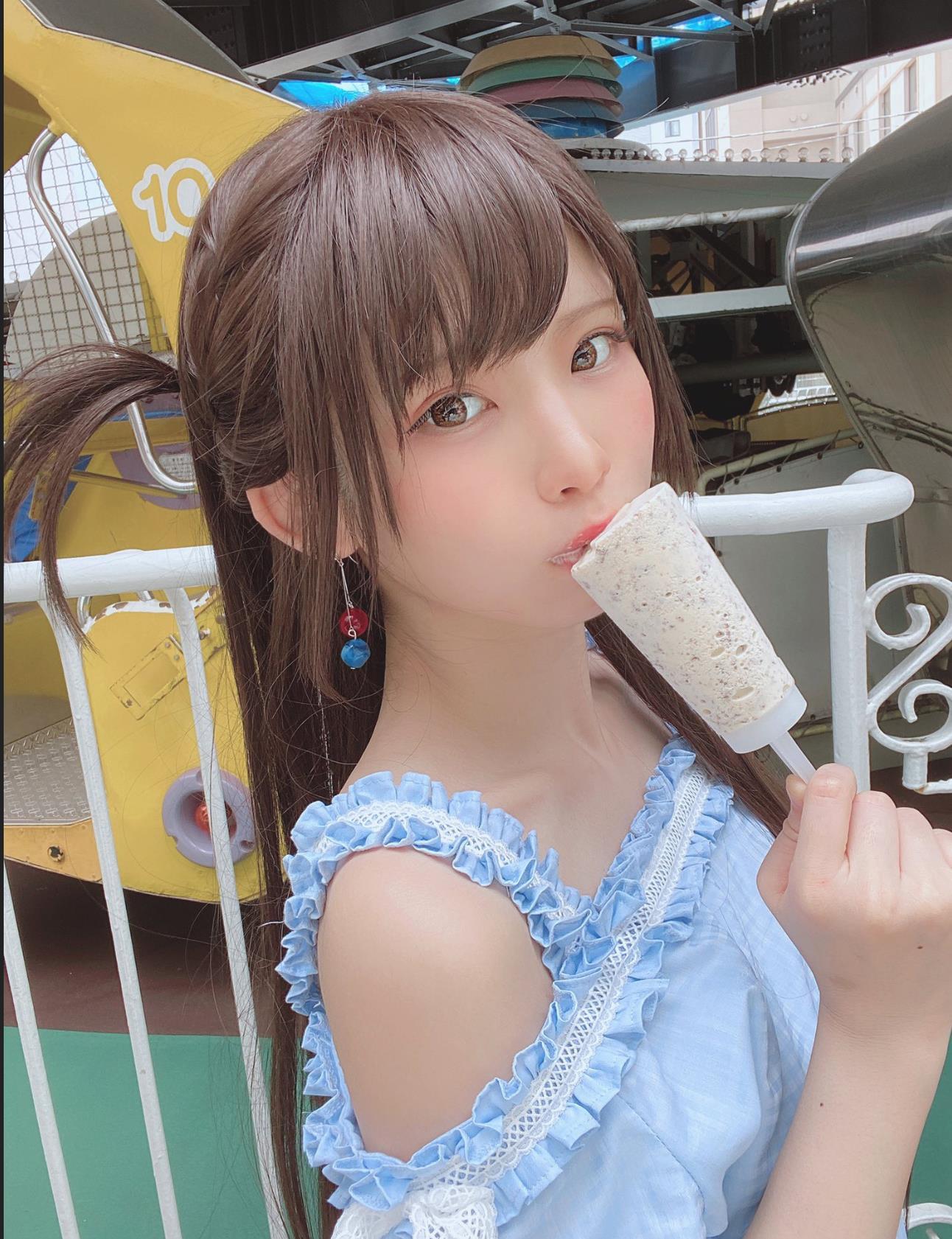 日本第一coser【enako】联动租借女友,周刊少年Magazine 2020 NO.32写真特集